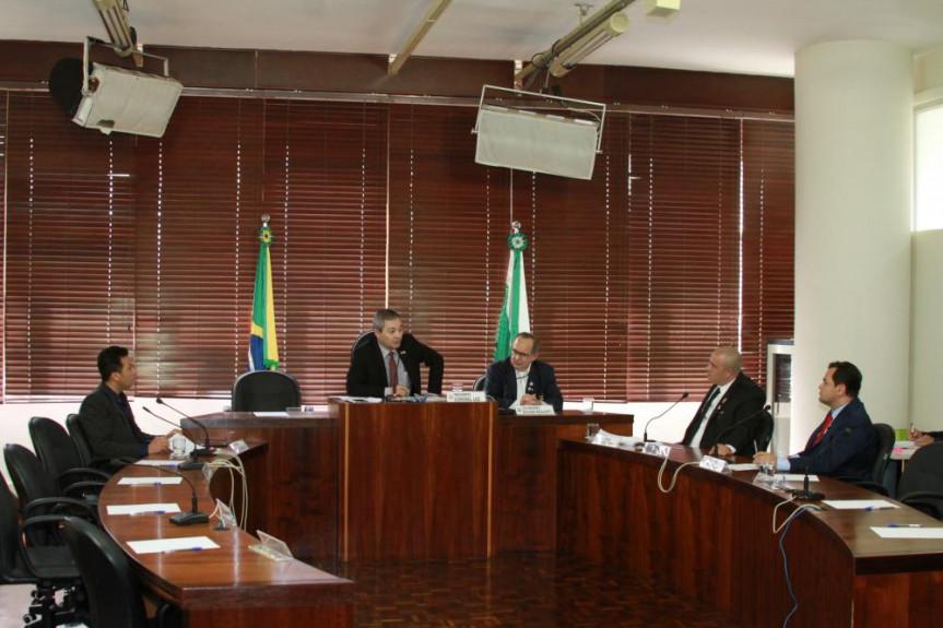 Reunião da Comissão de Segurança Pública