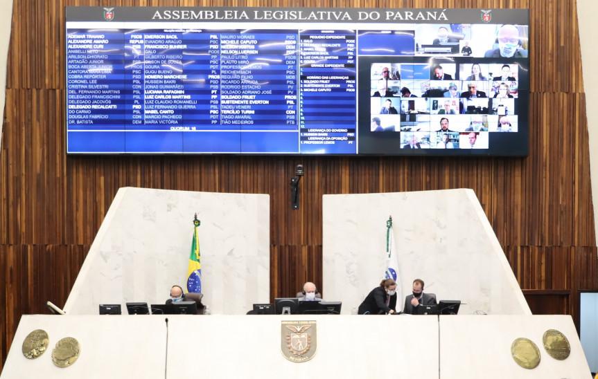 Deputados repercutem na sessão plenária da Assembleia Legislativa o grave acidente ocorrido na rodovia BR-277 em São José dos Pinhais.