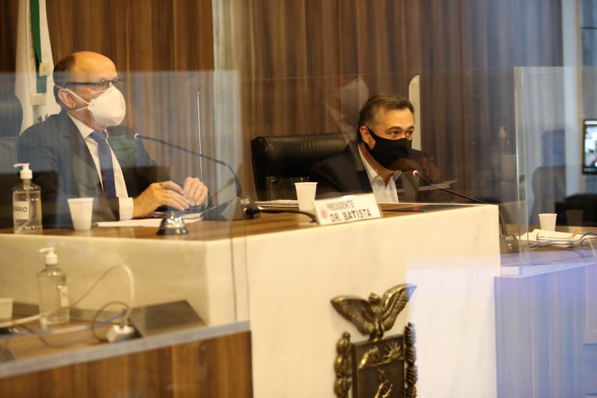 Secretário de Saúde, Beto Preto, realizou a prestação de contas referente ao primeiro quadrimestre.