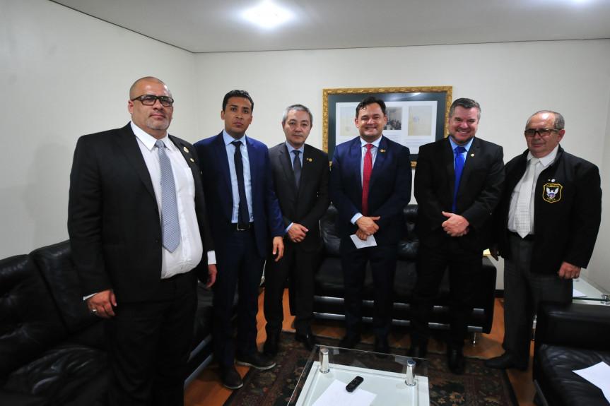 Reunião da Comissão de Segurança Pública.