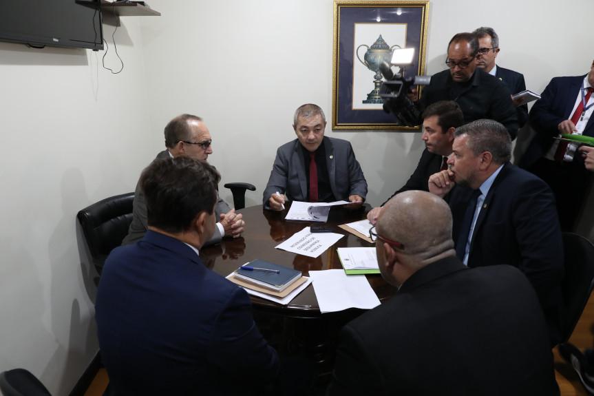 Reunião da Comissão de Segurança Pública da Assembleia Legislativa do Paraná.