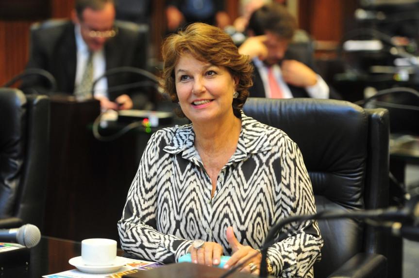 Deputada Cristina Silvestri (CDN), procuradora da Mulher na Assembleia Legislativa do Paraná.