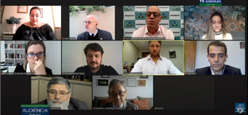 Audiência pública debateu a carga tributária no Paraná.