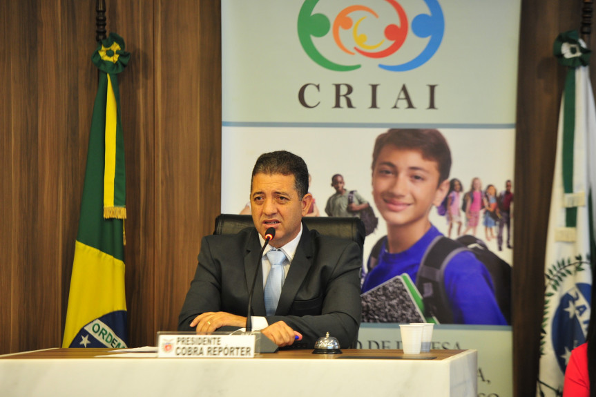 Deputado Cobra Repórter (PSD), presidente da Comissão de Defesa dos Direitos da Criança, do Adolescente, do Idoso e da Pessoa com Deficiência (Criai), da Assembleia Legislativa do Paraná.