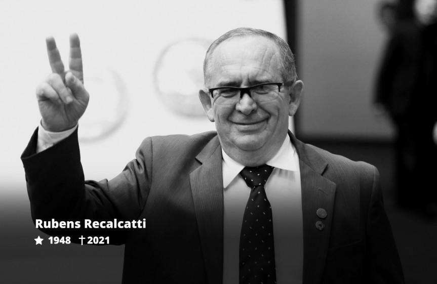 Deputado Delegado Recalcatti, faleceu aos 72 anos nesta sexta-feira (09).