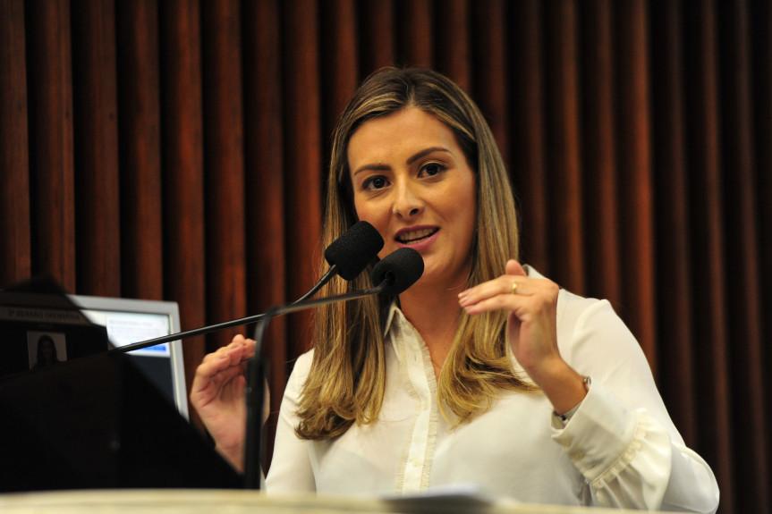 Deputada Mabel Canto (PSC).