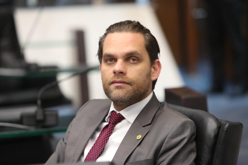 Deputado Goura (PDT), presidente da Comissão de Ecologia, Meio Ambiente e Proteção aos Animais da Assembleia Legislativa do Paraná.