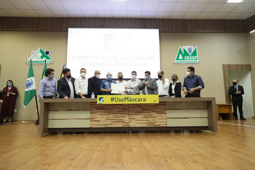 18 audiências públicas presenciais e remotas foram realizadas pela Frente Parlamentar sobre o Pedágio da Assembleia Legislativa do Paraná.