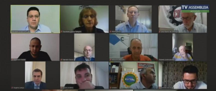 A revisão da NR36 que trata da saúde e segurança dos trabalhadores do setor frigorífico foi tema de audiência na Assembleia Legislativa do Paraná.