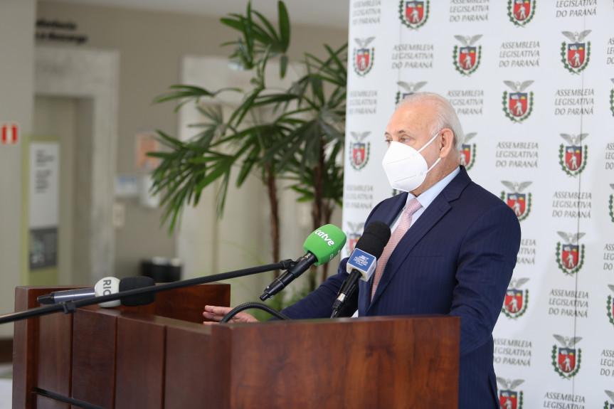 Sessões presenciais da Assembleia retornam no final de agosto. Decisão da Mesa Executiva foi anunciada pelo presidente da Casa, deputado Ademar Traiano (PSDB).