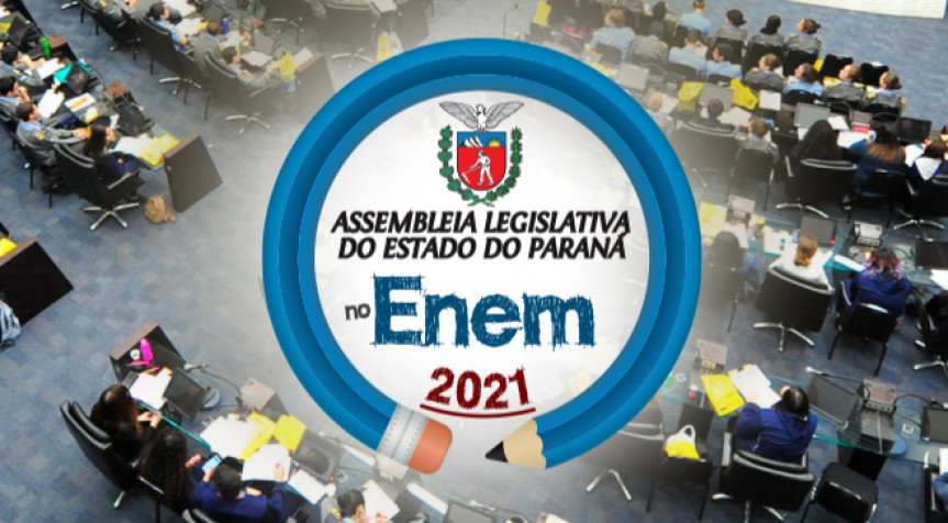 Assembleia no Enem disponibiliza mais de 800 videoaulas para preparatórias para o exame.